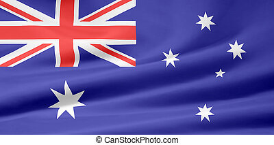 Flag of Australia - Very large flag of Australia