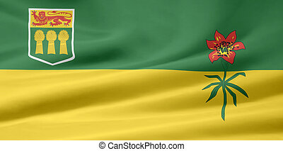 Flag of Saskatchewan - Canada - Very large flag of...