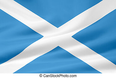 Flag of Scotland - Very large flag of Scotland
