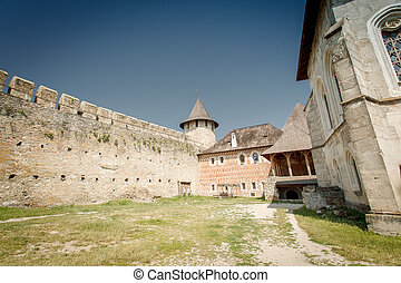 fortress Khotyn - Beautiful nature south east of Ukraine...