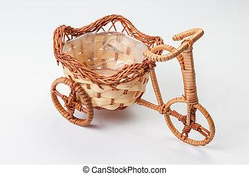 triciclos, estante,