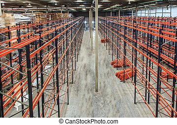 warehouse shelving high - The warehouse complex for the...