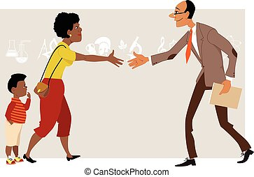parental involvement in black boys We suggest that black parents' perceptions and experiences.