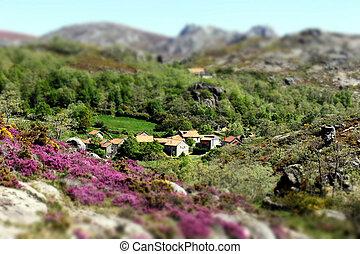 Aldeia no Ger - Pequena aldeia na Peneda Ger?s - Portugal