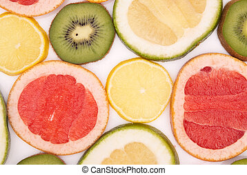fruits colourfully background
