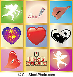Valentine Background 9 - Valentine greetings card, You can...