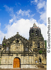 Church - An 18th century church in Southern Luzon,...