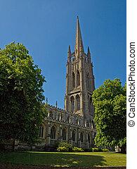 English Church - An old English curch in Louth,...