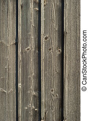 Aging and Weathered Wood as Design Element