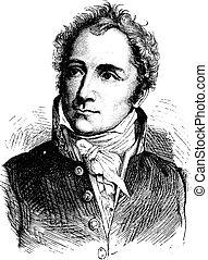 Casimir Perier, vintage engraving. - Casimir Perier, vintage...