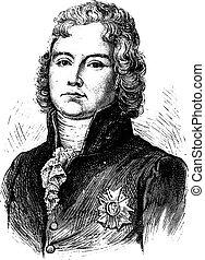 Talleyrand, vintage engraving. - Talleyrand, vintage...