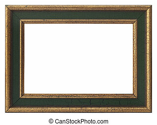 wooden photo frame vintage