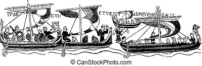 The vessels of William the Conqueror, (After the famous...