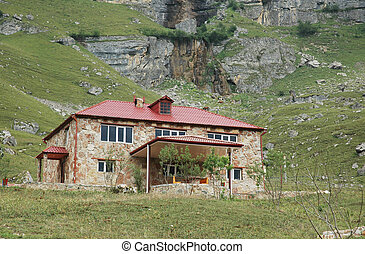 Two storey mansion in mountains - Suvar, Azerbaijan