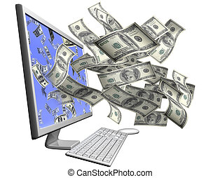 Making money with your computer - Isolated desktop computer...