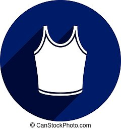 Singlet vector icon isolated.