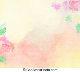 Pink tones color water flower background