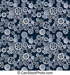 mechanism seamless background - seamless background with...
