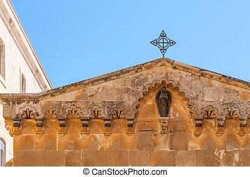 Chapel of Flagellation on Via Dolorosa, Jerusalem, Israel