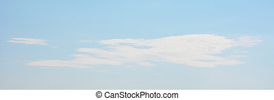 Blue sky and cloud as a background