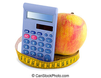 measuring tape - Apple with measuring tape calculator...