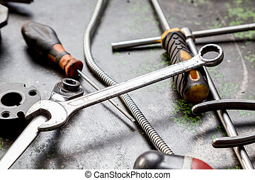 work tools used in a machine shop