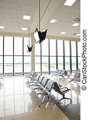 Waiting room in airport