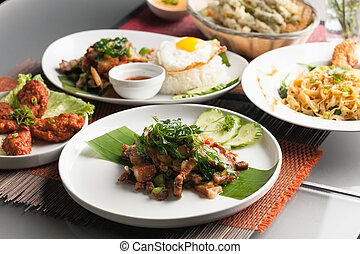 Authentic Thai Food Dishes