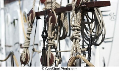 Yacht Rope Knots - Shifting focus from various types of...