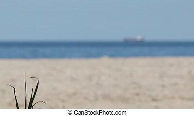 Ship Seen from Desert Island