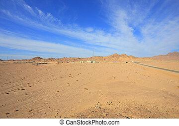 Desert in Egypt, Ras Mohammed National Park