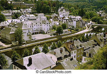 Views of Bouillon, Belgium - Bouillon is a municipality in...
