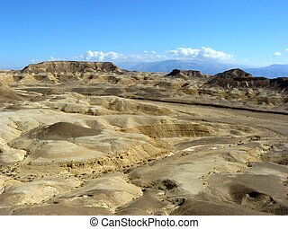 Negev Desert - Vadi Peres, Negev desert.The Negev is the...