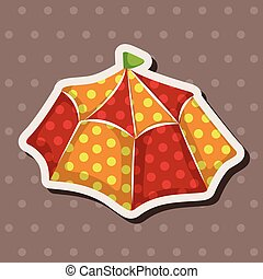 circus tents theme elements