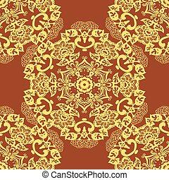 abstract circular seamless pattern