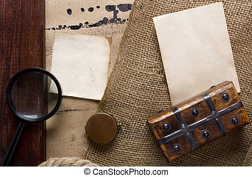 Vintage items - association with the old and the search for...