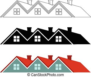 Group of houses