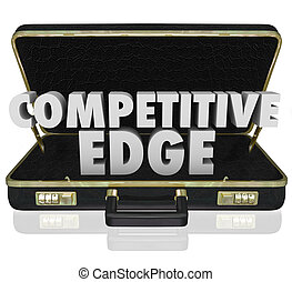Competitive Edge Briefcase Sales Advantage Presentation Proposal