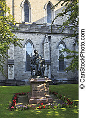 Statue of Sir Benjamin Lee Guinness in Saint Patricks...