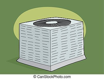 Air Conditioner Unit Illustrations And Clipart 210 Air