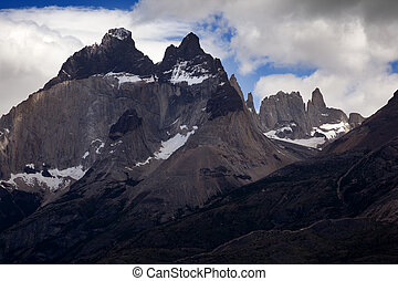 Los Cuernos, Las Torres National Park, Chile - The horns.