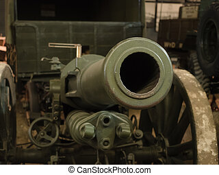 Field gun barrel - A WW1 vintage Field Gun barrel