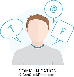 Icon for Communication