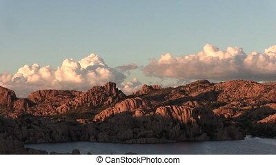 Watson Lake Prescott Arizona - scenic landscape of watson...