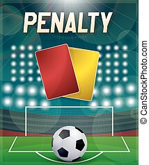 Penalty - Penatly with direct kick, footbal association...