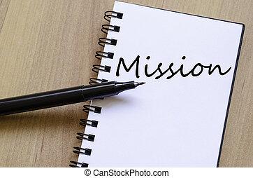 misión, concepto,
