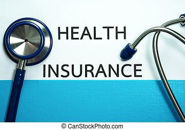 saúde, Estetoscópio, seguro
