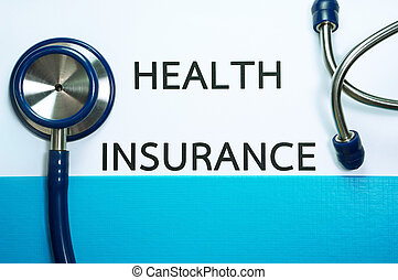 Medical insurance concept - Health insurance document in...