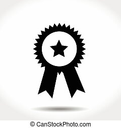 Award Icon Isolated on White Background