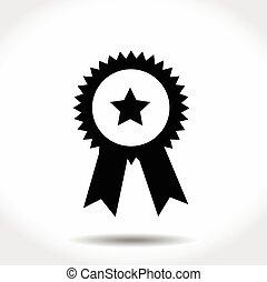 Award Icon Isolated on White Background